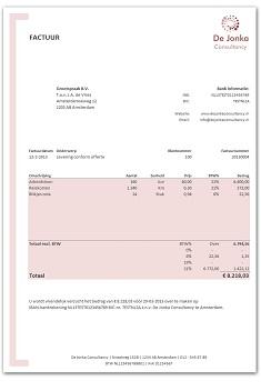 Super Excel facturen maken WP-02